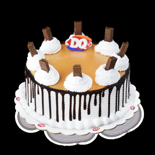 Wondrous Dairy Queen Kit Kat Blizzard Cake Dairy Queen Funny Birthday Cards Online Fluifree Goldxyz
